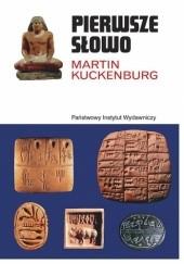 Okładka książki Pierwsze słowo Martin Kuckenburg