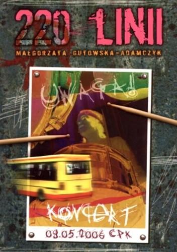 Okładka książki 220 linii Małgorzata Gutowska-Adamczyk