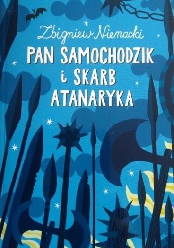 Okładka książki Pan Samochodzik i Skarb Atanaryka Zbigniew Nienacki