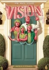 Okładka książki Vision (2015) #1 Gabriel Hernandez Walta,Tom King,Mike del Mundo