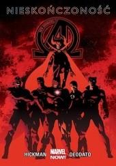Okładka książki New Avengers: Nieskończoność Mike Deodato Jr.,Jonathan Hickman