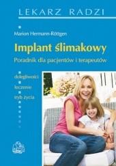 Okładka książki Implant ślimakowy. Poradnik dla pacjentów i terapeutów