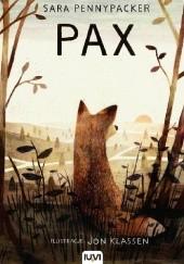 Okładka książki Pax Sara Pennypacker,Jon Klassen
