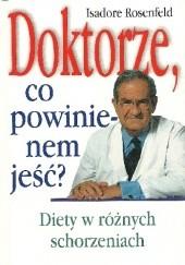 Okładka książki Doktorze, co powinienem jeść? Isadore Rosenfeld