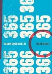 Okładka książki Siedem dobrych lat Etgar Keret