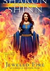Okładka książki Jeweled fire Sharon Shinn