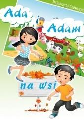 Okładka książki Ada i Adam na wsi Małgorzata Szewczyk