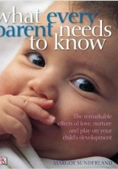 Okładka książki What every parent needs to know Margot Sunderland