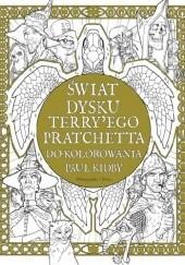 Okładka książki Świat Dysku Terry'ego Pratchetta do kolorowania Terry Pratchett,Paul Kidby
