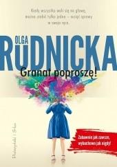 Okładka książki Granat poproszę! Olga Rudnicka