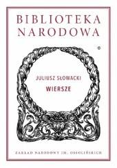 Okładka książki Wiersze Juliusz Słowacki