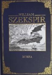 Okładka książki Burza William Shakespeare