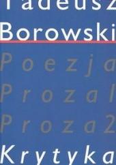 Okładka książki Pisma w czterech tomach. Krytyka tom IV Tadeusz Borowski
