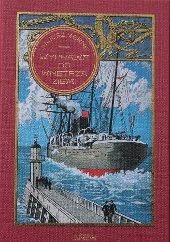 Okładka książki Wyprawa do wnętrza ziemi Juliusz Verne