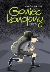 Okładka książki Goniec Konopny Marcin Wrzos