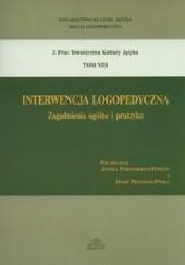 Okładka książki Interwencja logopedyczna zagadnienia ogólne i praktyka Tom 8 praca zbiorowa