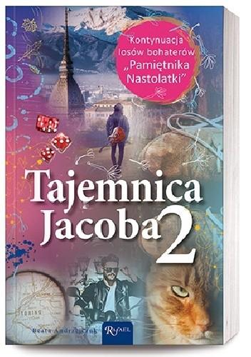 Okładka książki Tajemnica Jacoba 2 Beata Andrzejczuk