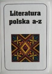 Okładka książki Literatura polska A-Z Jerzy Marchewka