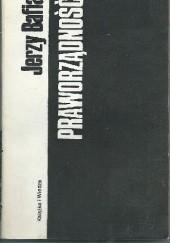 Okładka książki Praworządność Jerzy Bafia