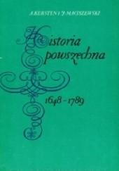 Okładka książki Historia powszechna 1648-1789