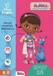 Okładka książki Klinika dla pluszaków Spot it! Dosia Disney English
