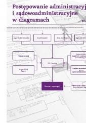 Okładka książki Postępowanie administracyjne i sądowoadministracyjne w diagramach