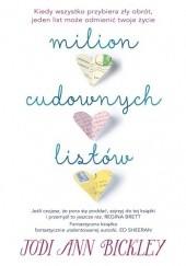 Okładka książki Milion cudownych listów Jodi Ann Bickley
