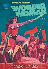 Okładka książki Wonder Woman: Kości Brian Azzarello,Cliff Chiang,Goran Sudžuka
