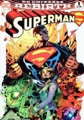 Okładka książki Superman #1