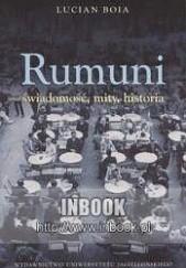 Okładka książki Rumuni: świadomość, mity, historia Lucian Boia