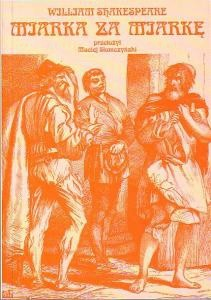 Okładka książki Miarka za miarkę William Shakespeare