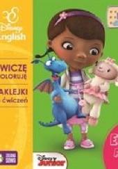 Okładka książki Ćwiczę i koloruję z Dosią Disney English