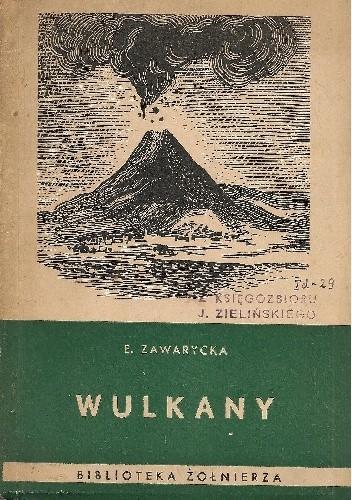 Okładka książki Wulkany Ewa Zawarycka