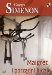 Okładka książki Maigret i porządni ludzie Georges Simenon