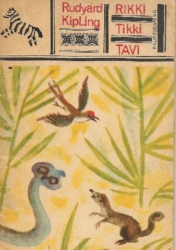 Okładka książki Rikki Tikki Tavi Rudyard Kipling
