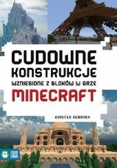 Okładka książki Cudowne konstrukcje wzniesione z bloków w grze Minecraft