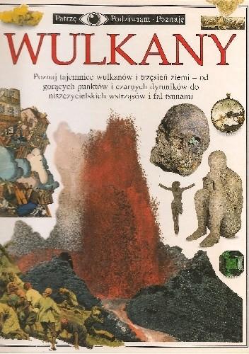 Okładka książki Wulkany Susanna van Rose