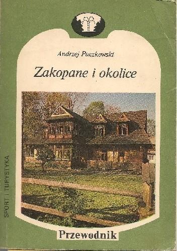 Okładka książki Zakopane i okolice Andrzej Paczkowski
