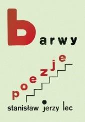 Okładka książki Barwy Stanisław Jerzy Lec