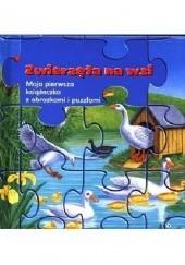 Okładka książki Zwierzęta na wsi. Moja pierwsza książeczka z obrazkami i puzzlami Bob Bampton,Gisela Fischer