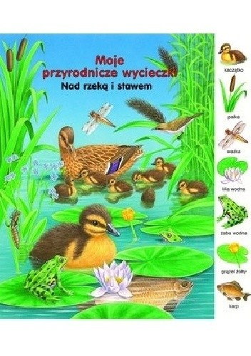 Okładka książki Nad rzeką i stawem. Moje przyrodnicze wycieczki Gisela Fischer