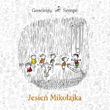 Okładka książki Jesień Mikołajka René Goscinny,Jean-Jacques Sempé