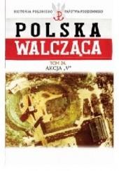 """Okładka książki Akcja """"V"""" Robert Szcześniak"""
