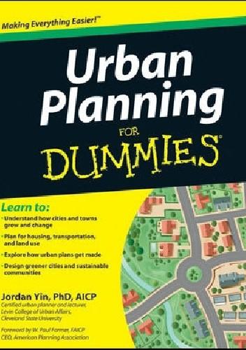 Okładka książki Urban Planning For Dummies Jordan Yin