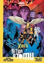 Okładka książki X-Men: Bitwa atomu Brian Michael Bendis,Brian Wood,Chris Bachalo,Jason Aaron,Stuart Immonen
