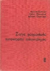 Okładka książki Zarys gospodarki surowcami mineralnymi Andrzej Bolewski,Hubert Gruszczyk,Edward Gruszczyk