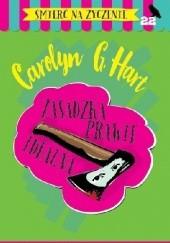 Okładka książki Zasadzka prawie idealna Carolyn G. Hart