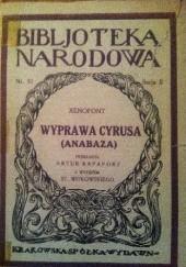 Okładka książki Wyprawa Cyrusa (Anabaza)