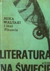 Okładka książki Literatura na świecie 1988/2 (199): Mika Waltari i inni finowie Mika Waltari,Redakcja pisma Literatura na Świecie