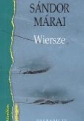 Okładka książki Wiersze Sándor Márai